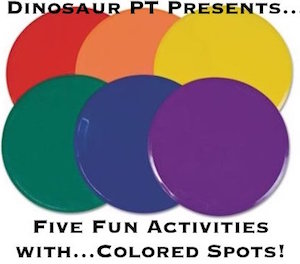 Fun Activities For Children With Colored Spots